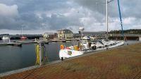 500 m zum Hafen - Bild 17: Fewo am Wieker Bodden 80m zum Wasser, WLAN,Terrasse, Garten, Fahrräder.