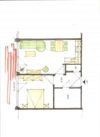 Bild 5: 2-Zimmerbalkon FeWo Zempin - Strandnah - WLAN und Schwimmbad Kostenfrei