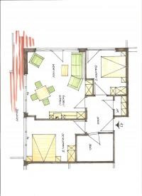 Bild 5: 3-Zimmerterrassen FeWo Zempin - Strandnah - WLAN und Schwimmbad kostenfrei