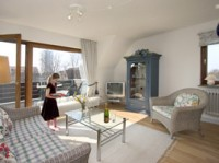 Haus Isabel Wohnzimmer App.9 - Bild 2: Appartement 9 Haus Isabel an der Nordsee Büsum