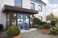 und der Eingang vom Haus Isabel - Bild 8: Appartement 9 Haus Isabel an der Nordsee Büsum