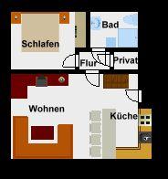 Bild 11: Sylt - Westerland Ferienwohnung mit Internet / Wlan im 1. OG. Whg.4