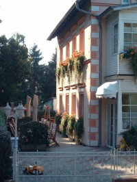 "Bild 11: Wintergartenzimmer *** / Pension ""Villa Erika"" *Seebad Lubmin *Ostsee"