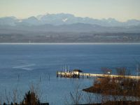aufgenommen im Winter - mit tollem See- und Alpenblick - Bild 8: Ferienwohnung Fam. Sauer - mit herrlichem See- und Alpenblick -