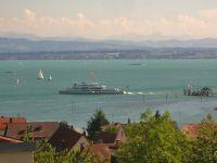 Schiff der Bodenseeflotte - Bild 2: Ferienwohnung Fam. Sauer - mit herrlichem See- und Alpenblick -