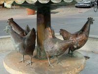 und hier die Hennen dazu - Bild 29: Ferienwohnung Fam. Sauer - mit herrlichem See- und Alpenblick -