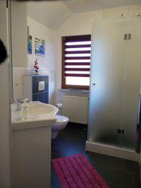 Dusche, WC, Waschbecken - Bild 5: Ferienwohnung 3, Haus Erhard in Berlin Lichtenrade
