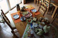"""Frühstück (auf Wunsch für 4,50 € p.P.) - Bild 11: FeWo """"Landhaus Kolbe"""" (Whg. 1) an der ostfriesischen Nordseeküste"""