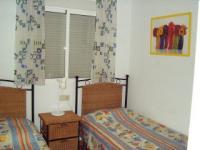 Schlafzimmer mit 2 Einzelbetten, zusammenstellbar - Bild 8: Ferienhaus im andalusischen Stil von privat an der Costa Blanca in Spanien