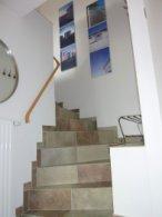 Und hier geht es hinauf ins Dachgeschoss - Bild 8: Traum-Ferienwohnung Deichrose Greetsiel - Top-Ausstg für 4 Pers.+Baby