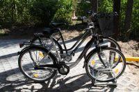 2 Fahrräder stehen zur Vermietung bereit - Bild 14: Ferienhaus Seebungalow direkt am Storkower See