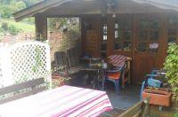"""Das Gartenhaus steht jedem Gast  zum Grillen oder Entspannen nach Absprache zur kostenlosen Verfügung. - Bild 8: Ferienwohnung"""" Am Hemberg""""( Region Diemelsee)"""