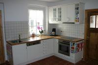 Die Küche ist komplett ausgestattet. Geschirrspüler, Kühl-Gefrierkombi - Bild 5: Ferienhaus Beestland am Rande der Mecklenburgischen Schweiz für 6 Personen