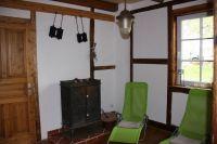 Im Saunahaus laden zwei Relaxliegen zum Verweilen ein. - Bild 23: Ferienhaus Beestland am Rande der Mecklenburgischen Schweiz für 6 Personen