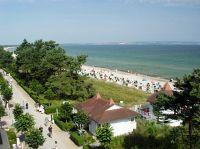 Der Ausblick vom Balkon über die ganze Bucht bis zu den Kreidefelsen ist einmalig. - Bild 8: Appartementhaus ATLANTIC - Appartement 11