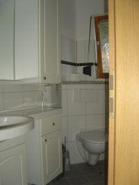 Die Dusche im Bad ist barrierefrei. - Bild 5: Bungalow C bei Blankenburg am Südhang mit Panoramablick