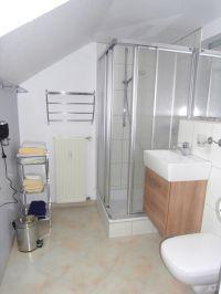 Badezimmer - Bild 5: Ferienwohnung A im Ferienhaus Homburger