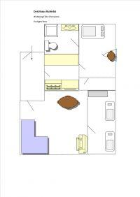 Bild 23: Ferienhaus mit Wohnung im Dachgeschoss - Reet-Dach-Haus f. 4 Personen