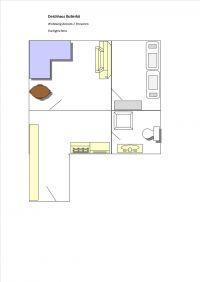 Bild 20: Ferienhaus m.kleiner Wohnung im Dachgeschoss, am Deich für 2 Personen