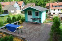 mit Grillterrasse - Bild 2: Haus am Bergflüsschen - Whirlwanne - Garten - Pool - Sauna - Alleinnutzung