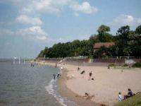 Auch ein schöner Hundestrand ist vorhanden. - Bild 8: Ferienhaus Seeblick im Nordsee-Bad Dangast direkt beim Strand mit Hund