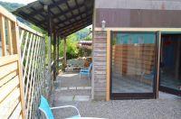 Kiesgarten vom Wellnesshaus direkt am Flüsschen - Bild 5: 4* Villa Holliday-230qm-Traumhaus-Garten, Sauna,Pool,Alleinnutzung