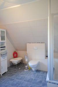 Badezimmereinrichtung - Bild 11: Ferienwohnung Gutshof 13, Urlaub auf gehobenem Niveau in Sildemow