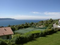 Die Tennisplätze gehören zur Anlage. Benutzung je Stunde 7 Euro. - Bild 2: Cabiana Residence - 6 Pers.- Ferienwohnung am Gardasee mit Seeblick