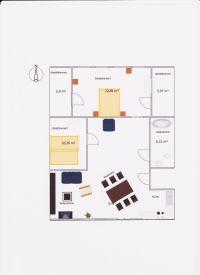 Bild 11: Villa am Alten Deich- komfortable Ferienwohnung in Butjadingen/Nordsee