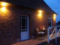 Abends an der warmen Westseite noch einen Wein oder ein Bier genießen, warum nicht?! - Bild 11: mitten in d. Natur, modern,ruhiges Haus für 6 Pers. rollstuhlgerecht