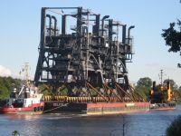 Ungewöhnliches Schiff auf dem NOK - Bild 11: Ferienwohnung am NOK