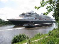 Holländisches Passagierschiff - Bild 2: Ferienwohnung am NOK