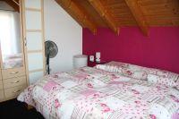 Doppelbett für 2 Personen. - Bild 11: Ferienwohnung im Haus Leo