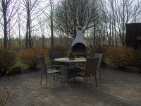 mit Möbeln und Grillkamin - Bild 11: Ferienwohnung außerhalb Fjerritslev nahe der Jammerbucht an der Nordsee