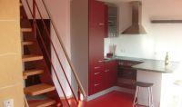 """Küche Aufgang zur Dachwohnung (ab 4 Personen) - Bild 5: Ferienwohnung """"Am Jakobusweg"""" in Bamberg Appartement 2"""