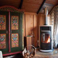 Bild 5: Gemütliches Holzhaus Eder Refugium mit Kamin und Zugang zur Eder