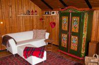 Bild 8: Gemütliches Holzhaus Eder Refugium mit Kamin und Zugang zur Eder