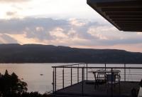 Die Terrasse mit Blicke auf die Hoeri. Balcony with view ont Germany. - Bild 2: Ferienwohnung Unterseeblick