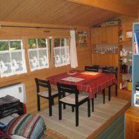 """Hier kann man sitzen, essen und auch spielen - Bild 5: Reif für die Insel Usedom?... dann in´s neue Blockhaus """"Kajüte""""!"""