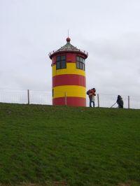 """Im bekannten """"Otto-Leuchtturm"""" bei Greetsiel kann auch geheiratet werden. - Bild 11: Ferienhaus """"Kristina"""" an der ostfriesischen Nordseeküste - Hunde erlaubt"""