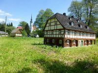 Freilicht-Umgebindehaus-Ausstellung mit größter Dorfkirche Deutschlands - Bild 14: Ferienzimmer im schönsten Tal der Oberlausitz, in der Cunewalder Obermühle