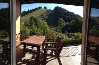Bild 8: 70m² Ferienhaus mit Panoramablick gegenüber Skihang, Mountaintrailparkour