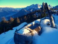 Bild 5: Ausblick Lienzer Dolomiten - Ferienwohnung