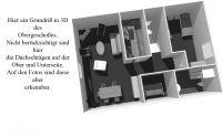 Hier ein Grundriss in 3-D des OG - Bild 11: Ferienhaus LUKAS (vorm. Holl) in Dornum