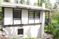 Blick vom Weg aus - Bild 2: Ferienhaus Eifelröschen - wenn Sie das Besondere lieben