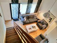 Das Wohnzimmer bietet viel Platz und Komfort! - Bild 2: Strandnahes und komfortables Ferienhaus Nordsee-Robee