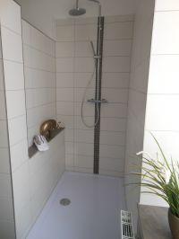 Ebenerdige Dusche 140 x 90cm - Bild 14: EG FEWO in Göhren 200m zum Strand, Terrasse, WLAN!!