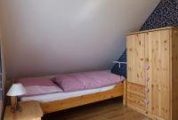 Schlafzimmer mit 2 Einzelbetten - Bild 8: Ferienhaus im Oderbruch - 2 Schlafzimmer - WLAN - Garten mit Grill