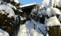 Bild 14: Ferienhaus Woodland Lodge mit eingezäuntem Garten in Winterberg-Niedersfeld