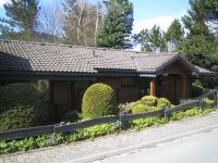 Bild 11: Ferienhaus Woodland Lodge mit eingezäuntem Garten in Winterberg-Niedersfeld